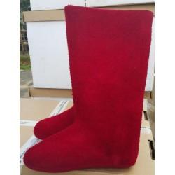 Veltiniai batai raudoni