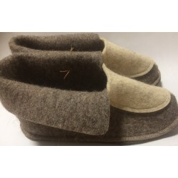 Slipper from felt  for man