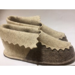 Slipper from felt  for woman