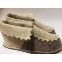 Туфли комнатные  войлочные женские