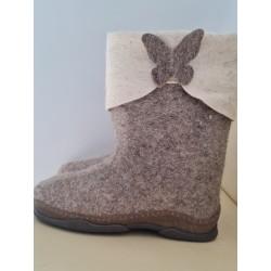 Veltiniai batai su poliuretaniniais padais