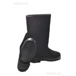 Veltiniai batai juodi  su guminiu padu 43 dydis