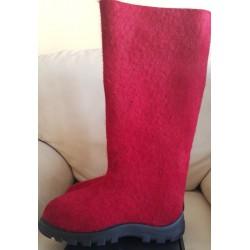 Veltiniai batai raudoni 38 dydis