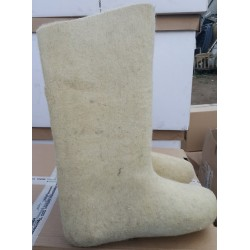 Felt boots white ,38 size